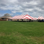 40x100 Madison Party Tent Rental