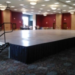 40ft x 60ft stage at The Wilderness Resort-WI Dells