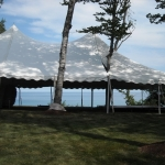 Rent white wedding tent Milwaukee