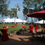 40x120 Green Bay Wedding Tent