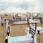 Bed event on Lake Michigan