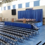 Graduation Stage Rental
