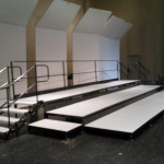 Tiered Stage Rental