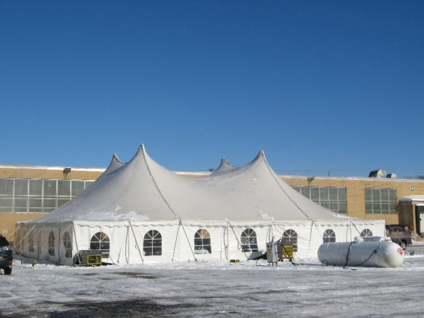 Green Bay winter event tent rentals