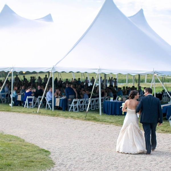 Wedding Reception Tent Rental New Berlin