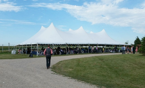 Wedding tent rental Delafield
