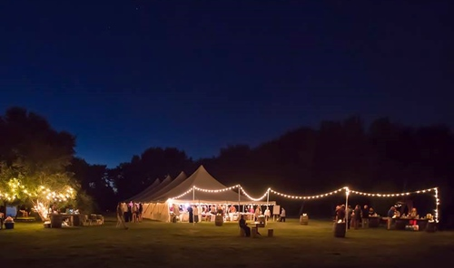 Wedding tent rental Sussex