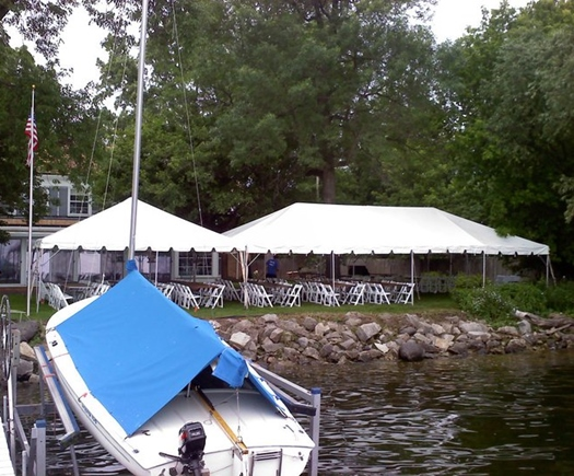 Wedding tent and chair rental Pewaukee