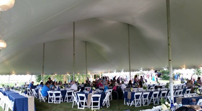 Pole Tent Rentals For Weddings, Parties and Festivals