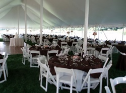 Wisconsin wedding tent rentals