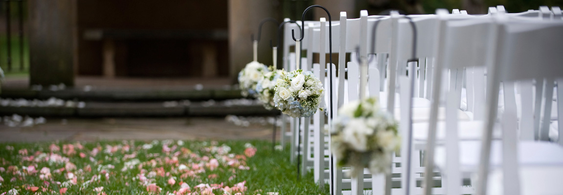 Chair rentals for Weddings