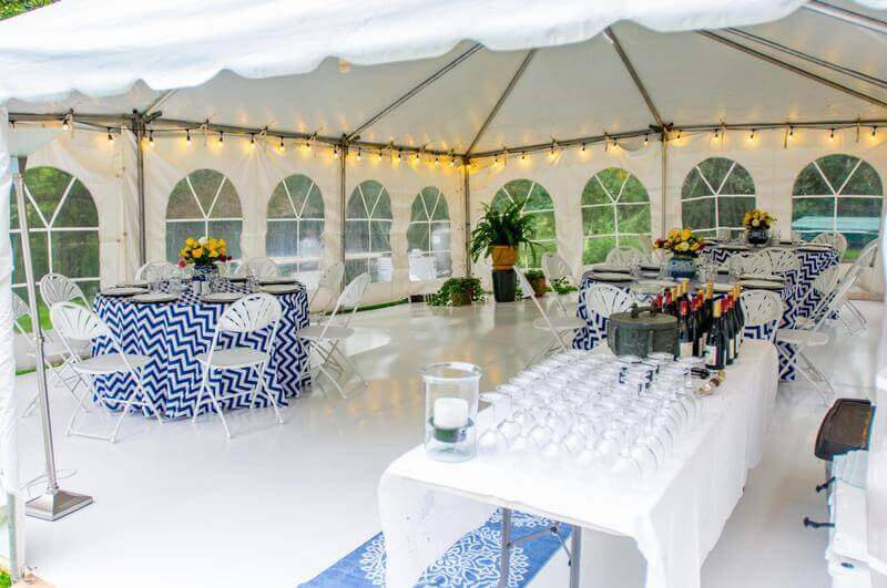 Custom-made winter party rental packages
