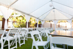 Medium tent rentals for events