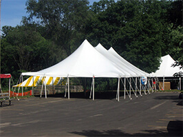 Tent rentals and more for graduations in Wisconsin