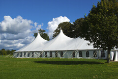 Medium heated tent rentals