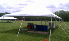 Rent self setup tents for disaster relief