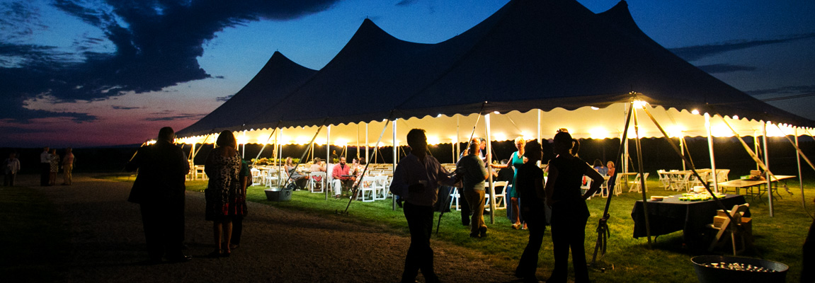 Outdoor Wedding Tent Rentals